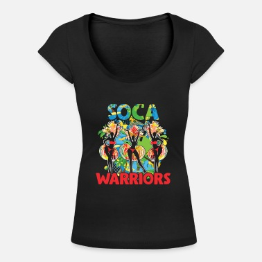 Trinidad James Soca Warrior Party Gift Vino Carnaval - Camiseta con cuello redondo mujer