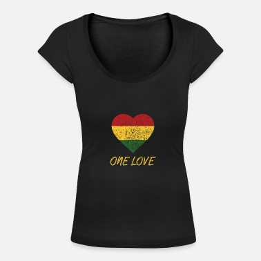 One ONE LOVE - Women's Scoop-Neck T-Shirt
