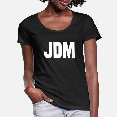 Jdm JDM - Women's Scoop-Neck T-Shirt