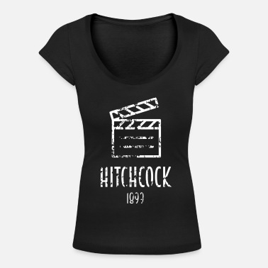Alfred Alfred Hitchcock Famous people - Women's Scoop-Neck T-Shirt