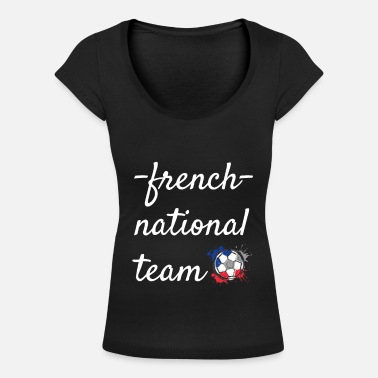 National Team French national team - Women's Scoop-Neck T-Shirt