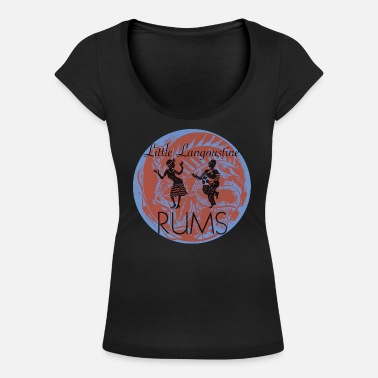 Top Rums Antique 1900 style - T-shirt col rond profond Femme