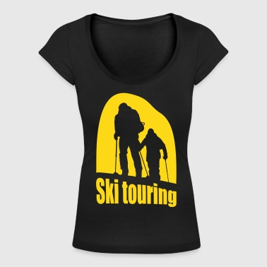 ski touring - Women's Scoop Neck T-Shirt