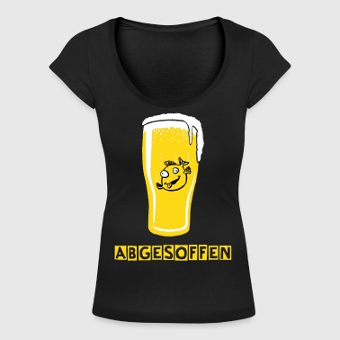 Fish in Pint - Women's Scoop Neck T-Shirt