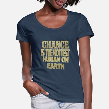 Chance chance - Women's Scoop-Neck T-Shirt