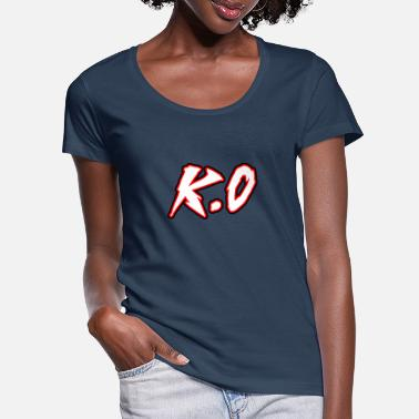 Kö KO - Women's Scoop-Neck T-Shirt