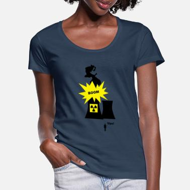 Nuclear Energy Nuclear Energy - Women's Scoop-Neck T-Shirt