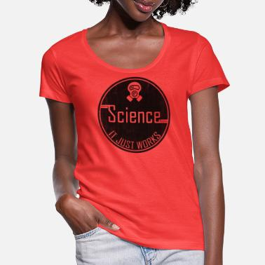 Science - It just works - Women's Scoop-Neck T-Shirt