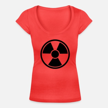 Nuclear nuclear - Women's Scoop-Neck T-Shirt