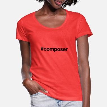 Compose COMPOSER - Women's Scoop-Neck T-Shirt
