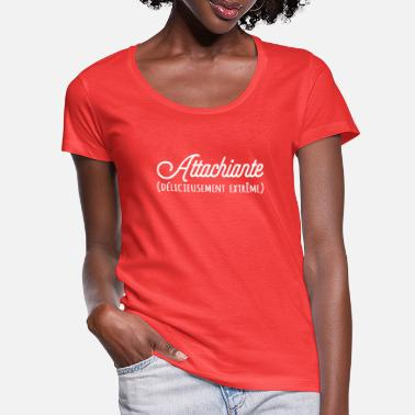 Attachiante - Women's Scoop-Neck T-Shirt