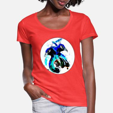Peacock Peacocks / Peacock - Women's Scoop-Neck T-Shirt