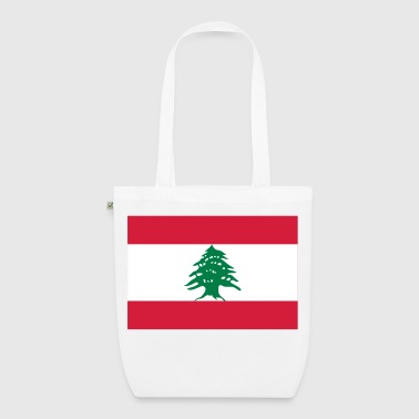 National Flag of Lebanon - EarthPositive Tote Bag