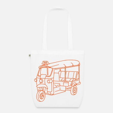 Tuk Tuk Tuk-tuk or autorickshaw - EarthPositive Tote Bag