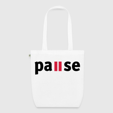 Pause - EarthPositive Tote Bag