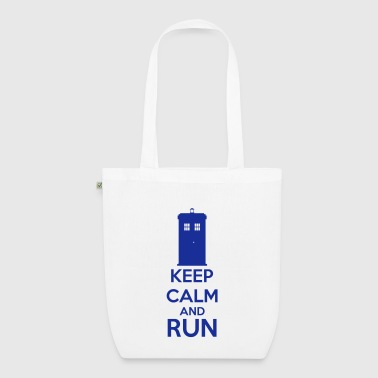 Keep Calm And Run - Bolsa de tela ecológica