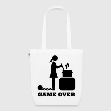 Woman on pot game over JGA Bachelor farewell - EarthPositive Tote Bag