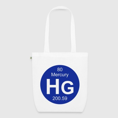 Mercury (Hg) (element 80) - EarthPositive Tote Bag