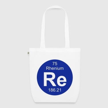 Rhenium (Re) (element 75) - EarthPositive Tote Bag