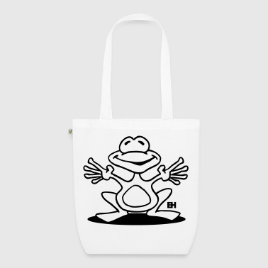 Frog - EarthPositive Tote Bag