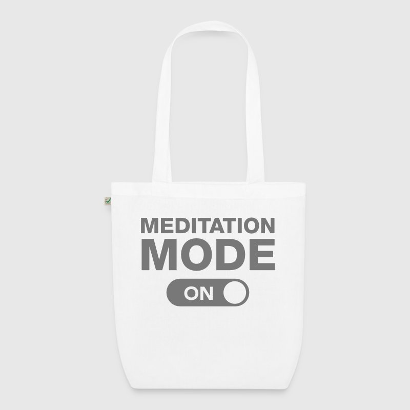 Meditation Mode (On) - EarthPositive Tote Bag