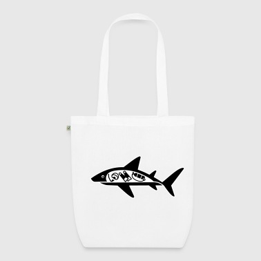 Shark ate scuba diver - EarthPositive Tote Bag