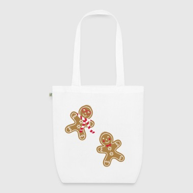 yummy funny gingerbread man - EarthPositive Tote Bag