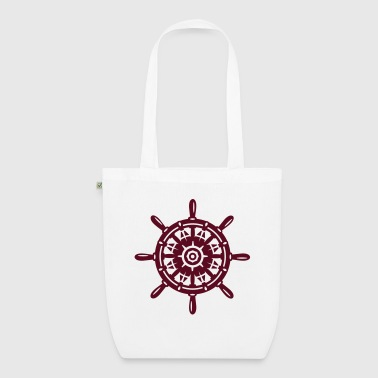 A ship wheel - EarthPositive Tote Bag