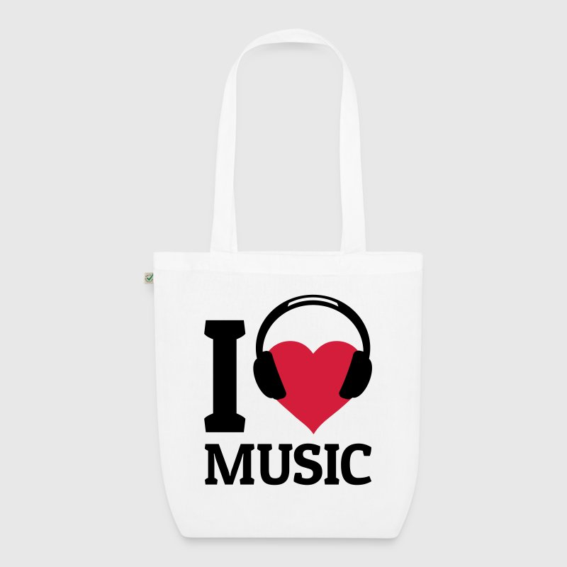 I love Music - EarthPositive Tote Bag