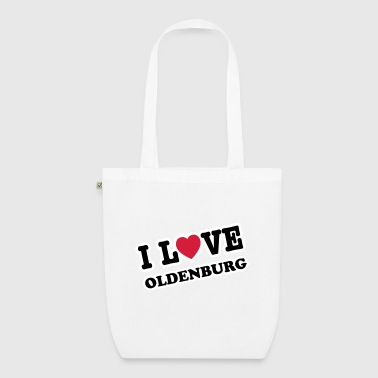 i love oldenburg - Bio-Stoffbeutel