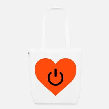 Cool power of love v2 - Organic Tote Bag