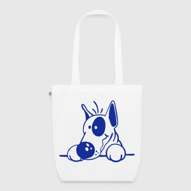 The Bull Terrier - EarthPositive Tote Bag