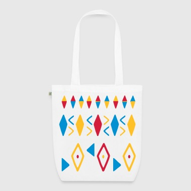 Watercolour Painted Patterns - EarthPositive Tote Bag