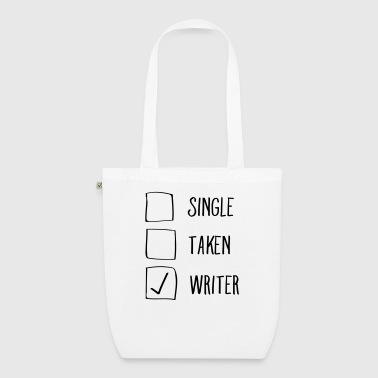 Single, Taken, Writer - Ekologisk tygväska