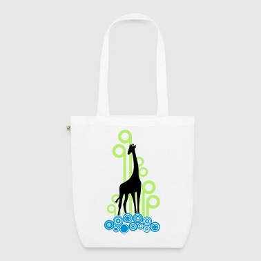 Giraf Silhouet Deco 3C - EarthPositive Tote Bag