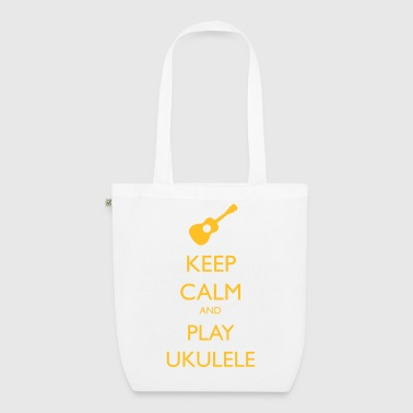 keep calm and play ukulele - EarthPositive Tote Bag