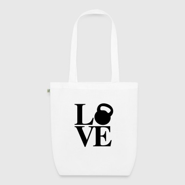 Kettlebell Love - EarthPositive Tote Bag