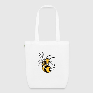 Wasp with giant sting  - EarthPositive Tote Bag