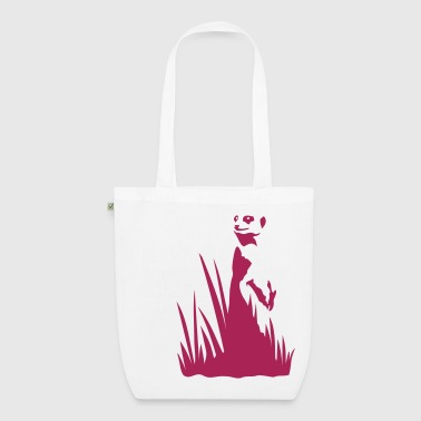 Meerkat in the grass - EarthPositive Tote Bag