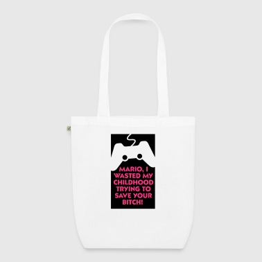 I tried to save Marios  - EarthPositive Tote Bag