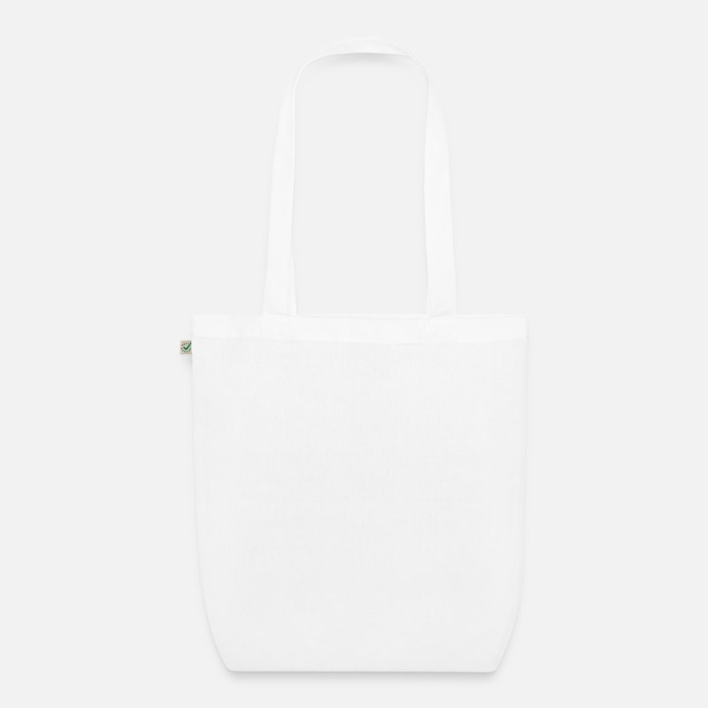 Dj Bags & Backpacks - DJ - Organic Tote Bag white