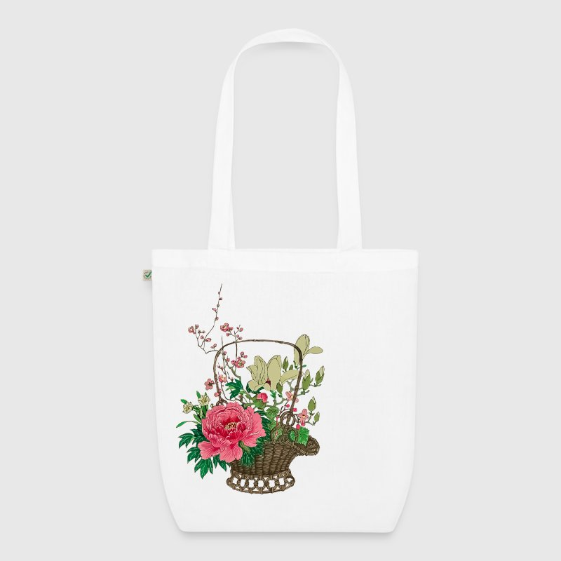 Japanese Ikebana - EarthPositive Tote Bag