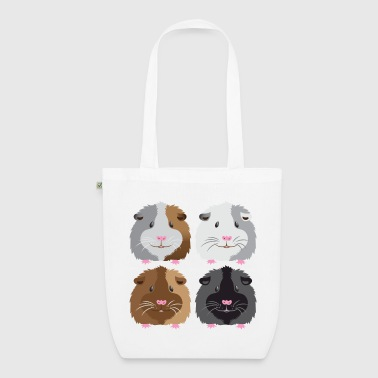 four guinea pigs cute - EarthPositive Tote Bag