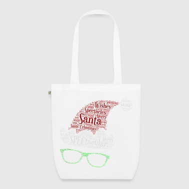 SPECtacular Santa with SPECS patjila - EarthPositive Tote Bag