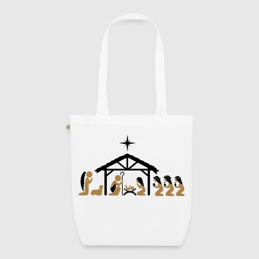 Bethlehem Nativity on Christmas Eve - EarthPositive Tote Bag