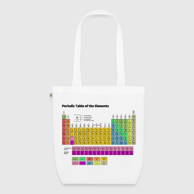 Periodic Table of the Elements - EarthPositive Tote Bag