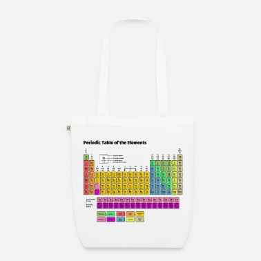 Periodic Table Periodic Table of the Elements - EarthPositive Tote Bag