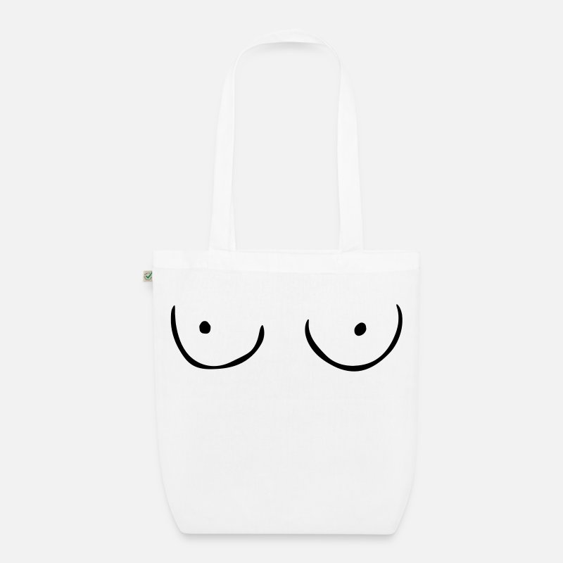 Tits Bags & Backpacks - Tits - Organic Tote Bag white