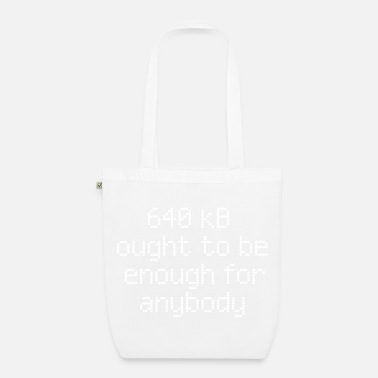 Nerd 640 kB for anybody - EarthPositive Tote Bag