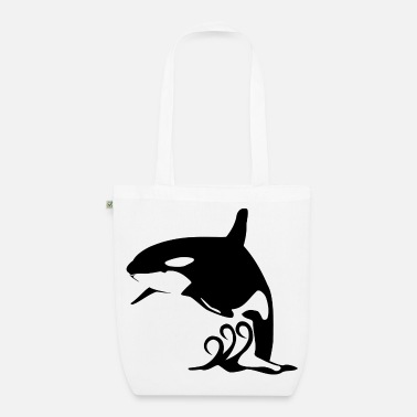 Killer Whale Killer Whale Leaping L - EarthPositive Tote Bag